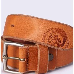 NEW Diesel Men's Break Leather Belt size 80